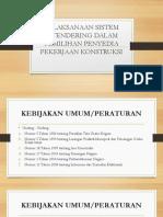 Kuliah Umum - MRK (E-Tendering)
