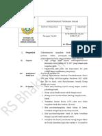 SPO Dokumentasi Dan Tumpahan Darah