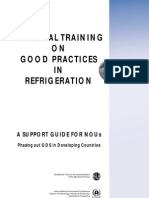 National Training on Good Practices in Refrigeration