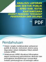 Analisis Laporan Keuangan Sektor Publik Kukar