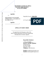 Darrin McGillis vs. Uber Technologies, Inc. Reply Brief Third District Court of Appeal