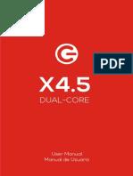 LOGIC X4 5 User Manual