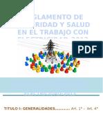 Reglamento de Seguridad y Salud en El Trabajo Con Electricidad-2013