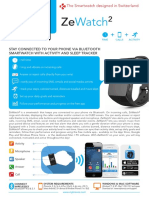 Product Sheet ZeWatch2 En