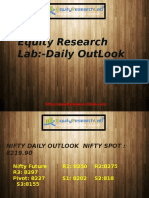 Nifty Daily Outlook 22 June Equity Research Lab