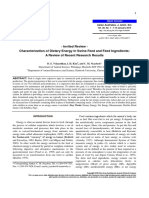 D.E. Velayudhan Et Al. 2015 - Characterization of Dietary Energy in Swine Feed and Feed Ingredients