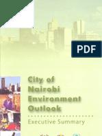 City of Nairobi - Environment Outlook