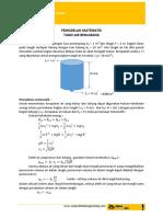 Pemodelan Matematik Tangki Air