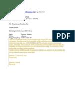 Contoh Surat Permohonan Kenaikan Gaji Bagi Karyawan
