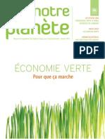 Notre Planète - Green Economy - Making it work - Français