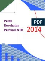 Profil Kesehatan Provinsi NTB Tahun 2014 Final