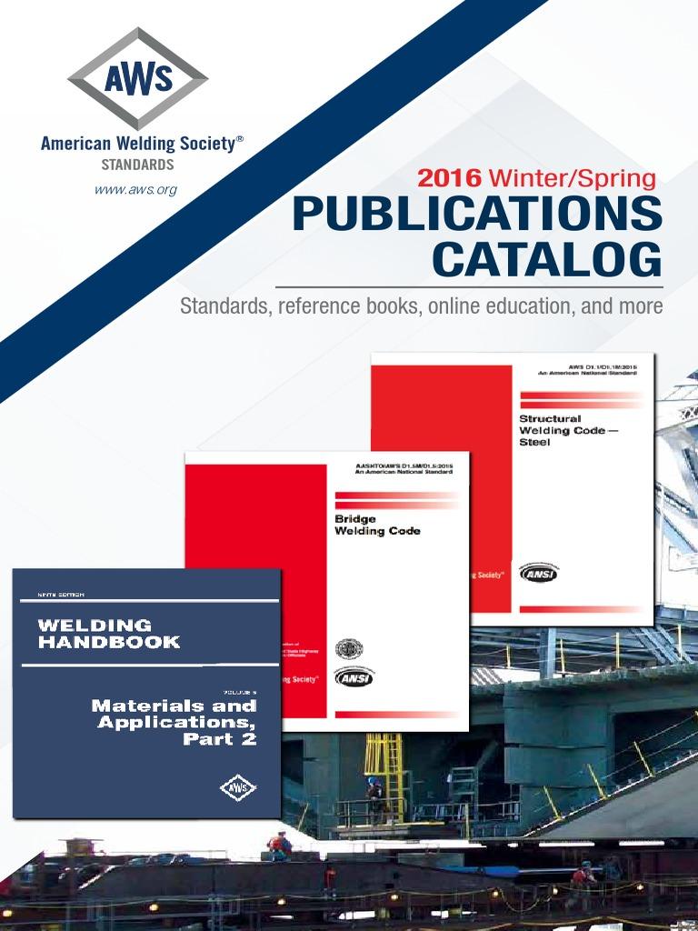 Catalogo normas aws welding nondestructive testing biocorpaavc Images