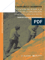 Casanova - De la Sociología del poder a la Sociología de la explotación en Latinoamerica