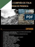 18 - Campaña Italia i - Las Fuerzas en Presencia