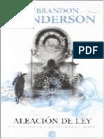 Aleacion de ley - Sanderson, Brandon.epub