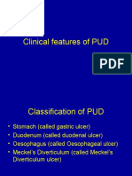 Clinical Features of PUD4