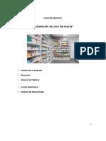 Farmacia_Plan de Negocios