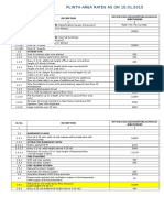 Mpwd Sor Vol. II Plinth Area Rate