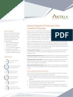 Axtria Territory Alignment Datasheet