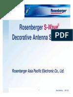 S-Wave Decorative Antenna Solution