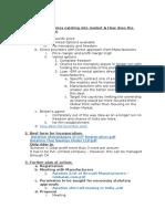 Flow Chart & Proposal Aviation
