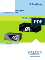 Sine Wave Home UPS Falcon Series Brochure