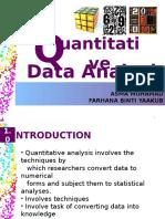 quantitativedataanalysis-131122004449-phpapp01