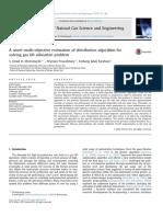 A Novel Multi-objective Estimation of Distribution Algorithm for Solving Gas Lift Optimization Problem