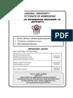Evening Courses Information Brochure III