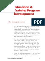 Implementing Change Using Training - Program Development.pdf