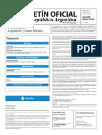 Boletín Oficial de la República Argentina, Número 33.403. 22 de junio de 2016