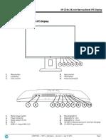 Datasheet_Monitor HP (K7B99A4)
