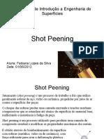Seminário - Shot Peening - Fabiana
