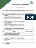 Instrumento de Medicion Del Clima Organizacional - Personal Administrativo