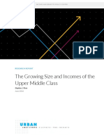 2000819 the Growing Size and Incomes of the Upper Middle Class