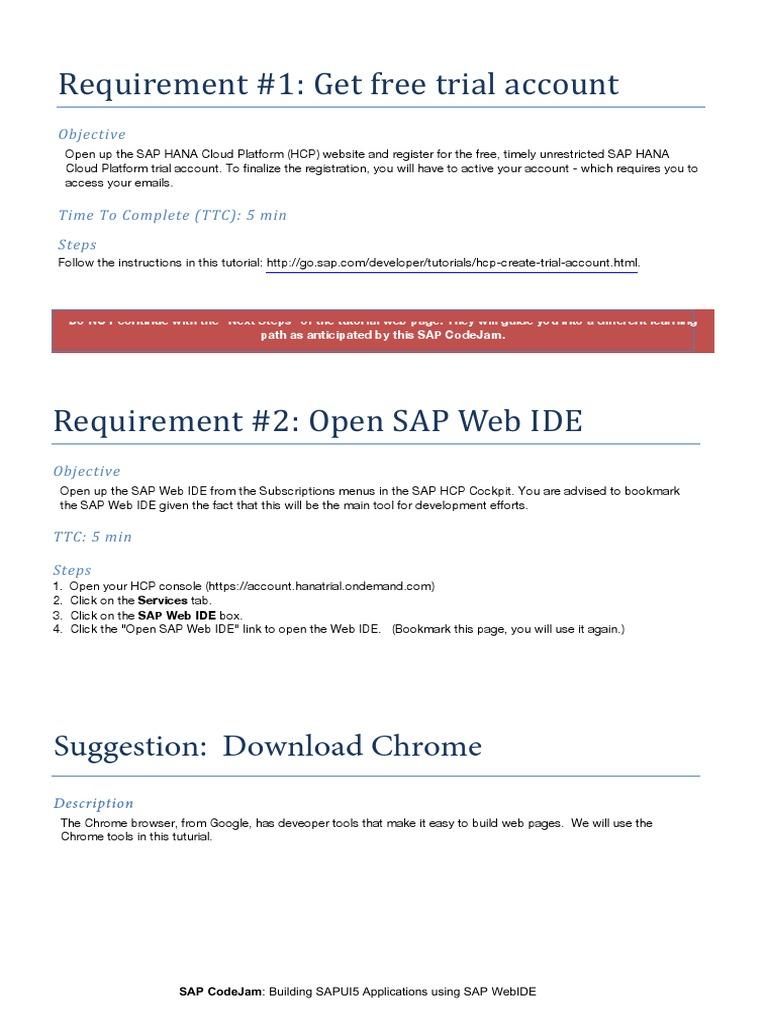 Sapui5 Codejam v2 (1) | Xml | Proxy Server