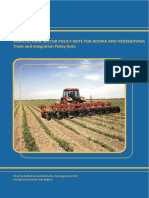 Agricultural Sector Policy Note for b He Ng