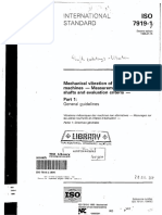 ISO 7919-1 Part 1 General Guidelines