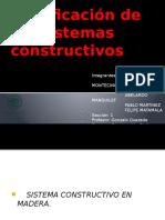 Clasificacion de Sistemas Constructivos
