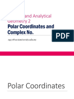 EE101 L11 (a)Polar Coordinate and Complex Numbers