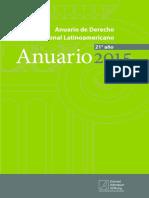 Anuario de Derecho Constitucional Latinoamericano 2015 Kas
