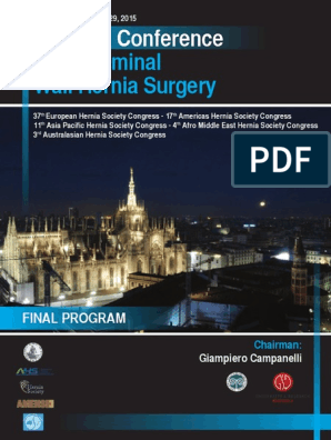 Hernia World Conference Program | Surgery | Medical Specialties