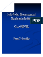 Multi Product Biopharmaceutical Manufacturing Facilities