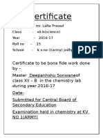 investigatory project on chemistry for class 12