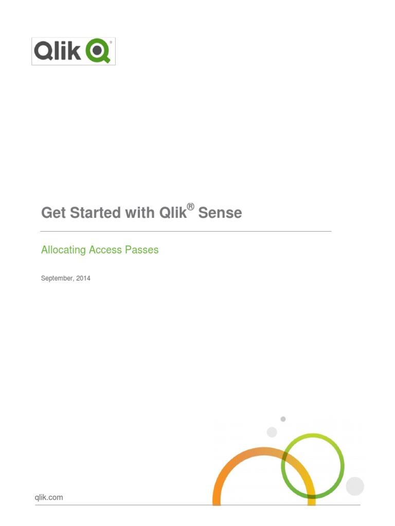 Qlik Sense Allocating Token License pdf | User (Computing