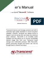 Recove Manual