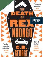 The Death of Rex Nhongo by C.B George