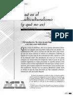 Quintana Paz -Multiculturalismo