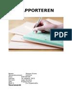 verslag rapporteren  steven groen - rocovt2b