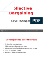 Collective Bargaining Clive Thompson 15 Nov 11